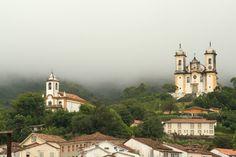 Historic Town of Ouro Preto, State of Minas Gerais, Brazil. Inscription in 1980. Criteria: (i)(iii)