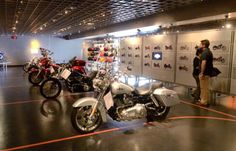 Visitors to the Harley-Davidson plant in Springettsbury Township have more options since the visitors center was renovated.