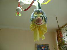 Farsangi bohóc, sárga