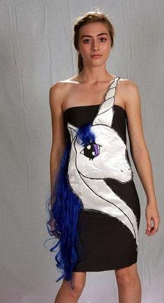 The Last Unicorn Costume Dress by coyotepeyote on Etsy - StyleSays