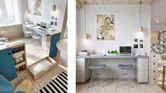 Картинки по запросу рабочее место на подиуме интерьер