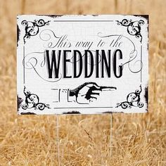 Retro Wedding Reception Decorations, Accessories and Favors