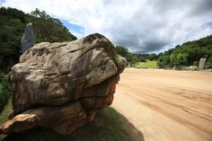 大いなる岩の顔(104トン岩/地の御子岩) - WolMyeongDong(キリスト教福音宣教会)