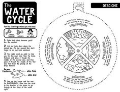 Water Cycle Worksheets B/W | Black and white version. ***EDI… | Flickr