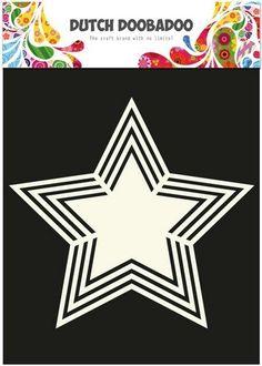 Card Making Templates, Star Template, Kirigami Templates, Shape Art, Masks Art, Marianne Design, Dot Painting, Silhouette Cameo, Stencils
