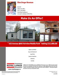 Mobile-Park-Fairview-Mobile-For-Sale-two-bedrooms-needs-tlc-MLS L095050