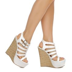 ShoeDazzle.com | Taren by Madison in white - Sale: $19.00 (Regular: $49.95)
