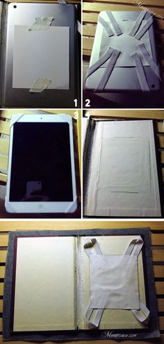 DIY iPad Case Step 2: Prep & Set Elastic - Monrogue