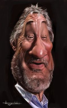 actor's caricatures | Caricatures - Wall to Watch