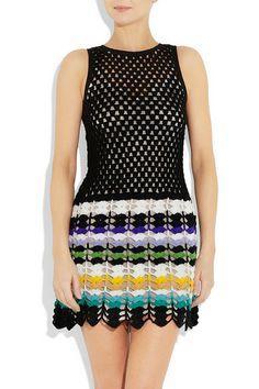 Outstanding Crochet: Missoni. Crochet dress.