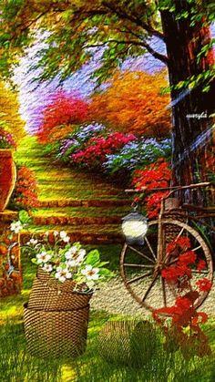 Flower show - beautiful ~ Beautiful Gardens, Beautiful Flowers, Beautiful Places, Beautiful Pictures, Les Gifs, Plantation, Flower Show, Belle Photo, Flower Power