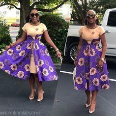 Latest ankara gown styles 2019 most trendy ankara designs for ladies. African Fashion Ankara, Latest African Fashion Dresses, African Dresses For Women, African Print Fashion, African Attire, Modern African Dresses, African Women, Ankara Designs, Ankara Rock