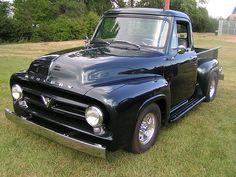 1953 Mercury Pickup Truck, Franklin Truck Parts - Trucks Image Gallery Vintage Pickup Trucks, Classic Pickup Trucks, New Trucks, Custom Trucks, Cool Trucks, Custom Cars, 1956 Ford Truck, 1954 Ford, Mercury Cars