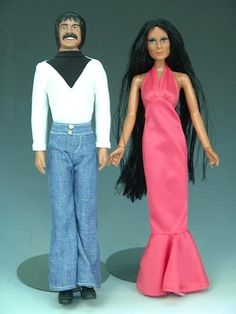 Sonny and Cher dolls 1976.