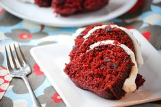 Red Velvet Bundt Cake - Copycat version of Nothing But Bundt Cakes.