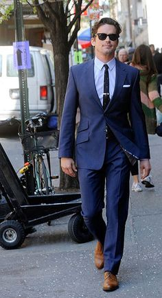 voguemodelsavenue:  hiddensuits:  Every man should own a blue suit  OH MY FUCK MATTHEW BOMER ASDFGHJKL WHY DO U HAVE TO BE GAY. WHY DOES ALL THE HOT GUYS HAVE TO BE GAY.