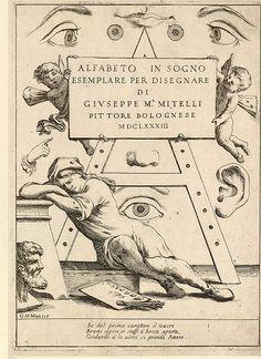 000-Portada Alfabeto in sogno 1683-© Trustees of the British Museum