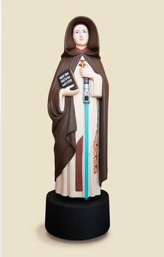 The Virgin Mary revisited by Soasig Chamaillard!