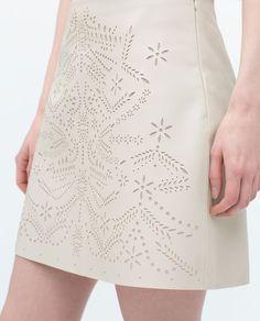 77cf144a Bilde 6 fra MINISKJØRT fra Zara Zara Women, Perfect Wardrobe, Lazer Cut,  Fashion