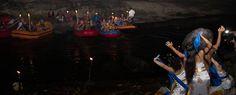 Outbound Bali Night Rafting Dance adalah outbound malam hari dimana pada stop point program ini akan di tampilkan sebuah tarian tradisional Bali yang dikolaborasikan dengan tari kontemporer