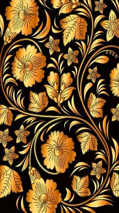 Pin by sharon braden on cell wallpapers исламские узоры, обо Iphone 5 Wallpaper, Gold Wallpaper, Pattern Wallpaper, Wallpaper Backgrounds, Floral Wallpapers, Phone Wallpapers, Fractal Art, Background Patterns, Black Gold