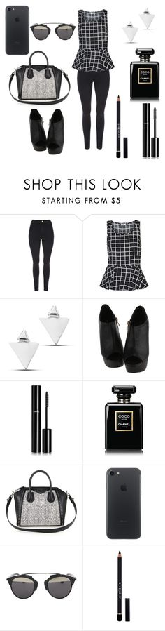 """Untitled #113"" by barbarapalvine22 ❤ liked on Polyvore featuring ONLY, Chanel, Givenchy and Christian Dior"