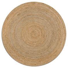 Tapis rond Hempy, diamètre 160 cm AM.PM : prix, avis & notation…