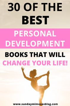 Are you looking for motivational self improvement books that will change your life? Check out these 30 personal development books to transform your life in 2020! #inspiration #books #motivation