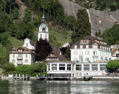 Vitznau, Lake Lucerne, Switzerland