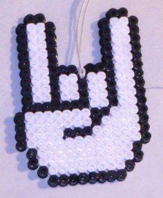 Heavy rock hama perler beads