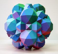 This is a form of a Johnson solid, a shape where every face is a polygon, but not necessarily the same polygon.