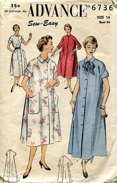 Vintage 40's FREE US SHIP Sewing Pattern by LanetzLivingPatterns