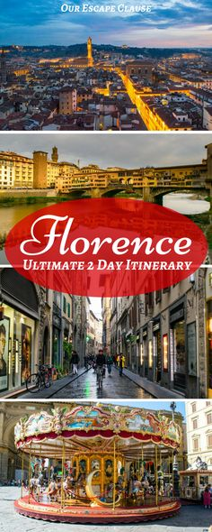 Follow this epic 2 days in Florence itinerary through Florence's best neighborhoods, foods, historical sights, and more! Check out amazing Renaissance art, stroll across the Ponte Vecchio Bridge, eat your heart out at the market, and walk away after 2 days in Florence just dying to go back. #florence #italy #florenceitinerary #itinerary #travel #firenze #italia