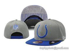 30ce072e663 NFL Snapback Hats Indianapolis Colts Retro 2015 Draft Cap Gray Blue