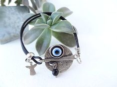 Evil eye bracelet Blue Evil Eye BraceletTurkish Jewelry