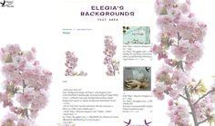 Elegia's Background Garden: Cherry - Background