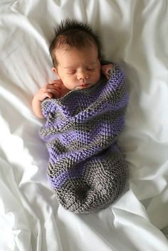Ravelry: Chevron Baby Sleep Sack pattern by Donita Westman