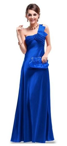 Amazon Clothing Deals:  Satin Prom Gown (4 Colors) Just $49.99 + FREE Shipping (Reg. $109.99)