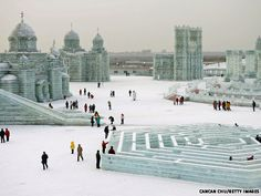 Harbin, China. If everything goes as planned I'll be there in a month!