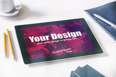 iPad tablet PSD Mockup @creativework247