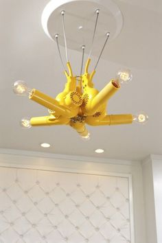 if i open a salon. then a blow dryer chandelier is a must
