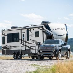Gm Trucks, Jeep Truck, Lifted Trucks, Cool Trucks, Chevy Trucks, Gmc Sierra Denali, Gmc Denali, Fifth Wheel Campers, Fifth Wheel Trailers