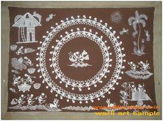 warli art - dilip vighne - AYUSH Adivasi Yuva Shakti - Picasa Web Albums