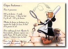 Brittany, les crêpes bretonnes