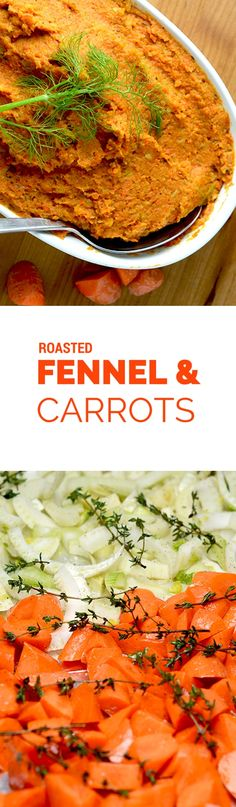 Roasted carrots and fennel is the perfect low carb side dish for beef, pork or lamb. Gluten Free, Paleo, Primal