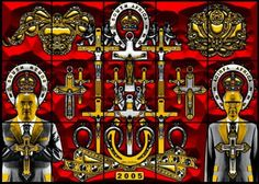 Gilbert & George, South Africa, 2010