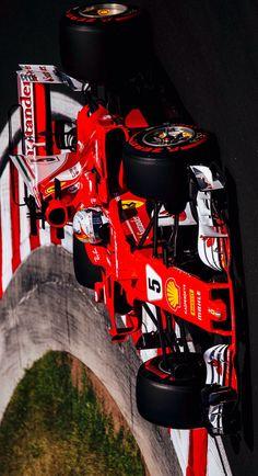 2017/7/29:Twitter: .@ScuderiaFerrari: #FP3 ending with Ferraris on top #Seb5 1:17.017 P1 and #Kimi7 1:17.492 P2 #HungarianGP
