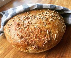 Saftig eltefritt rugbrød - Veganeren No Knead Rye Bread Recipe, Rye Bread Recipes, Vegan Bread, Dry Yeast, How To Make Bread, Vegan Life, Bread Baking, Cravings, Food And Drink