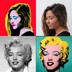 Adobe Photoshop - Warhol effect IG: @sarahjsdays