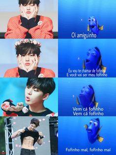 Bts Memes, K Meme, K Pop, Pentagon Hongseok, Quality Memes, Just Smile, Btob, K Idols, Boy Groups